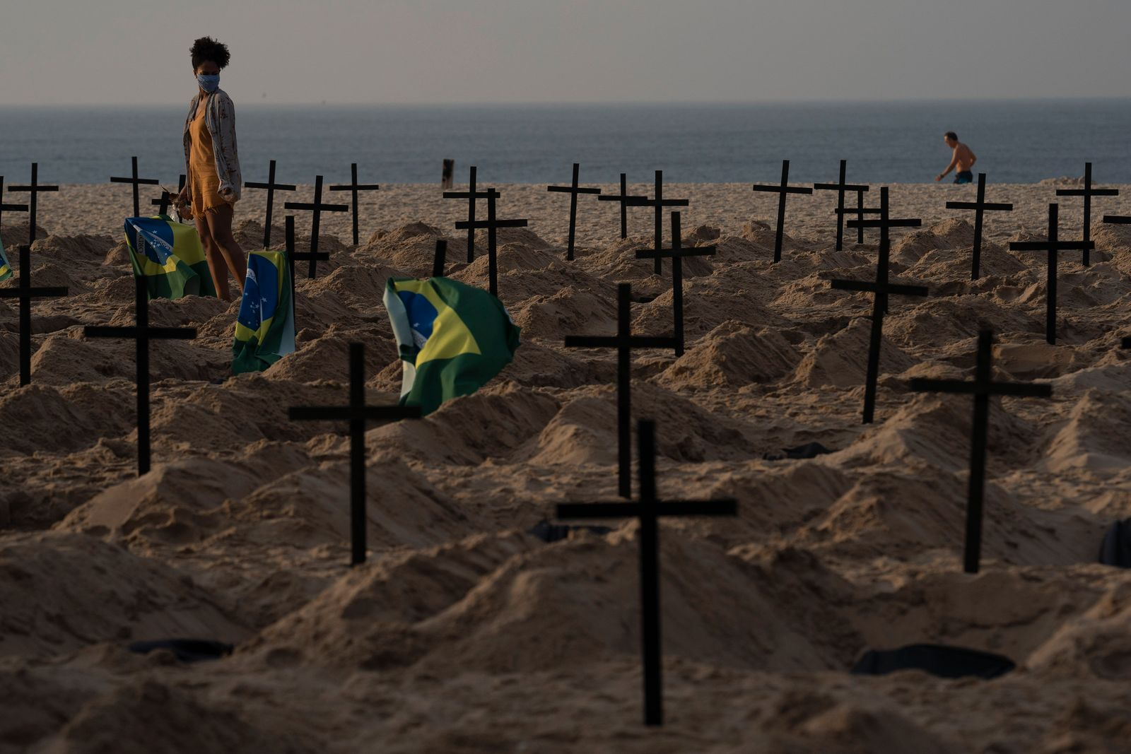 APTOPIX Virus Outbreak Brazil Protest