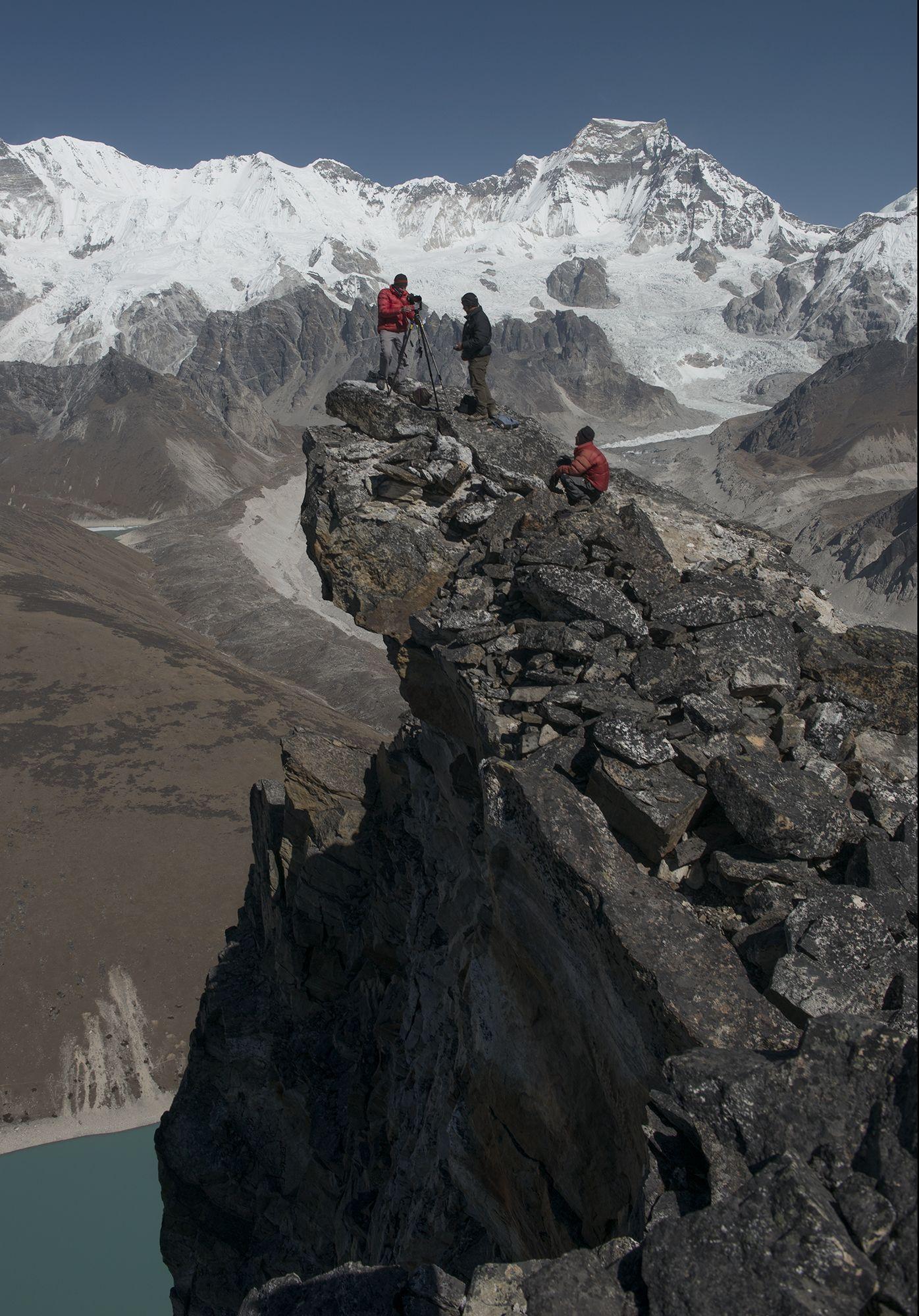 EINMALIGE VERWENDUNG David Breashears / GlacierWorks / Himalaya