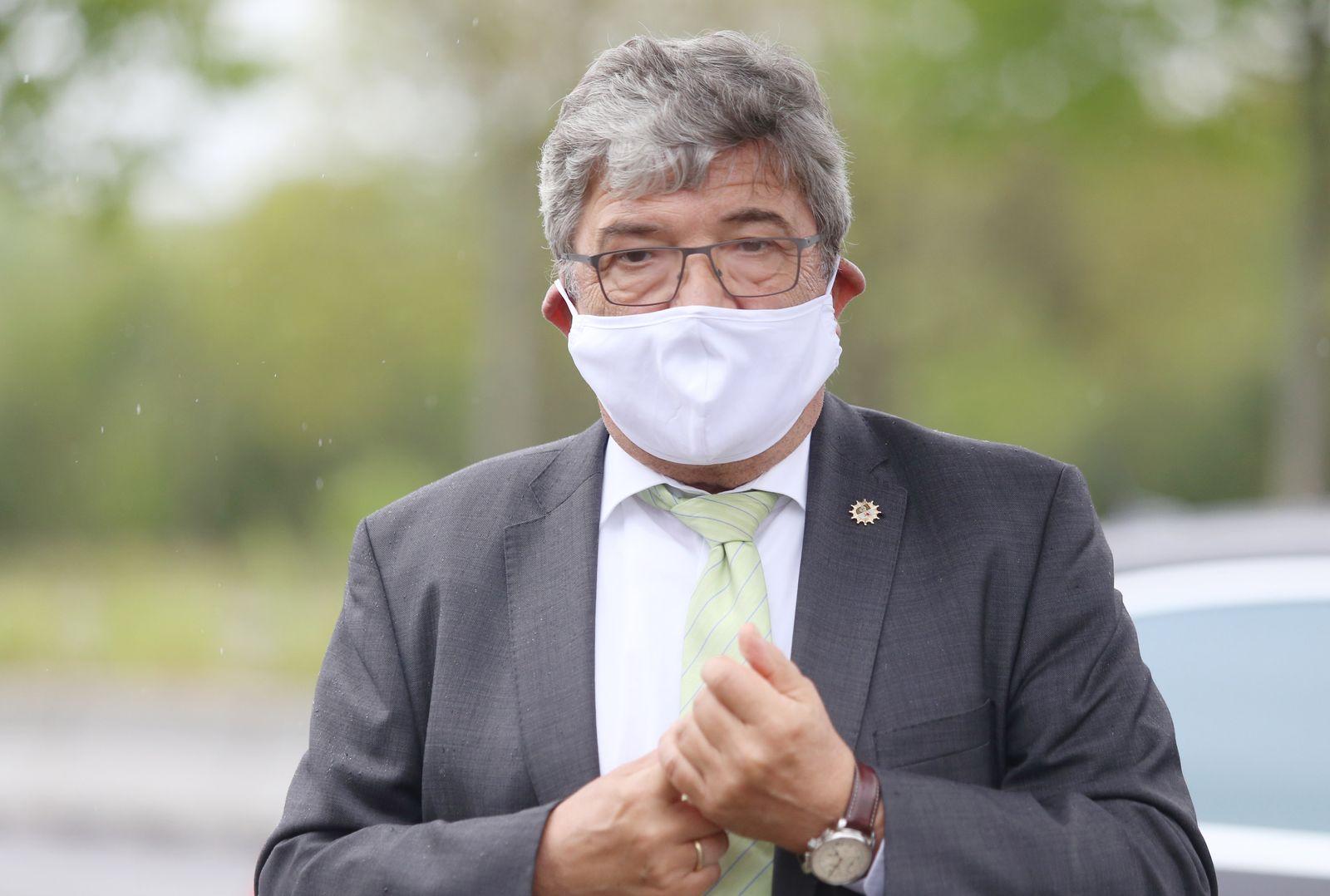 Coronavirus - Kabinettssitzung in Schwerin