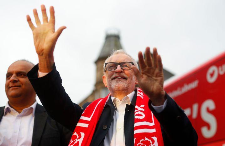 Labour-Chef Corbyn: Für die britische Wirtschaft wäre sein Wahlsieg ein Segen
