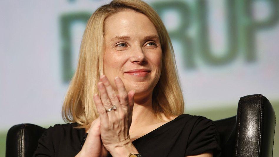 Yahoo-Chefin Mayer: Will im Mobilgeschäft angreifen