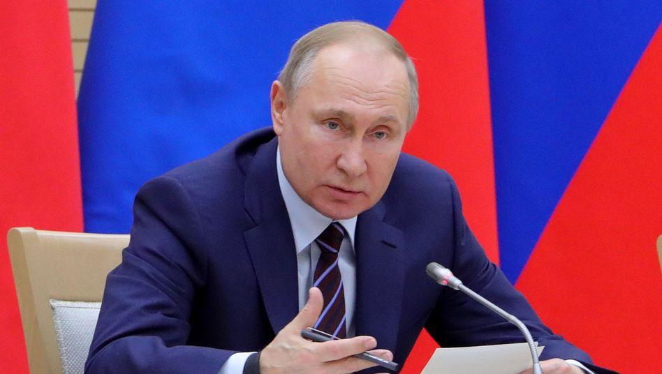 Wladimir Putin: Phase des Machtübergangs