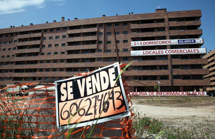 Leerstehender Wohnblock in Madrid: Die Entschuldung läuft