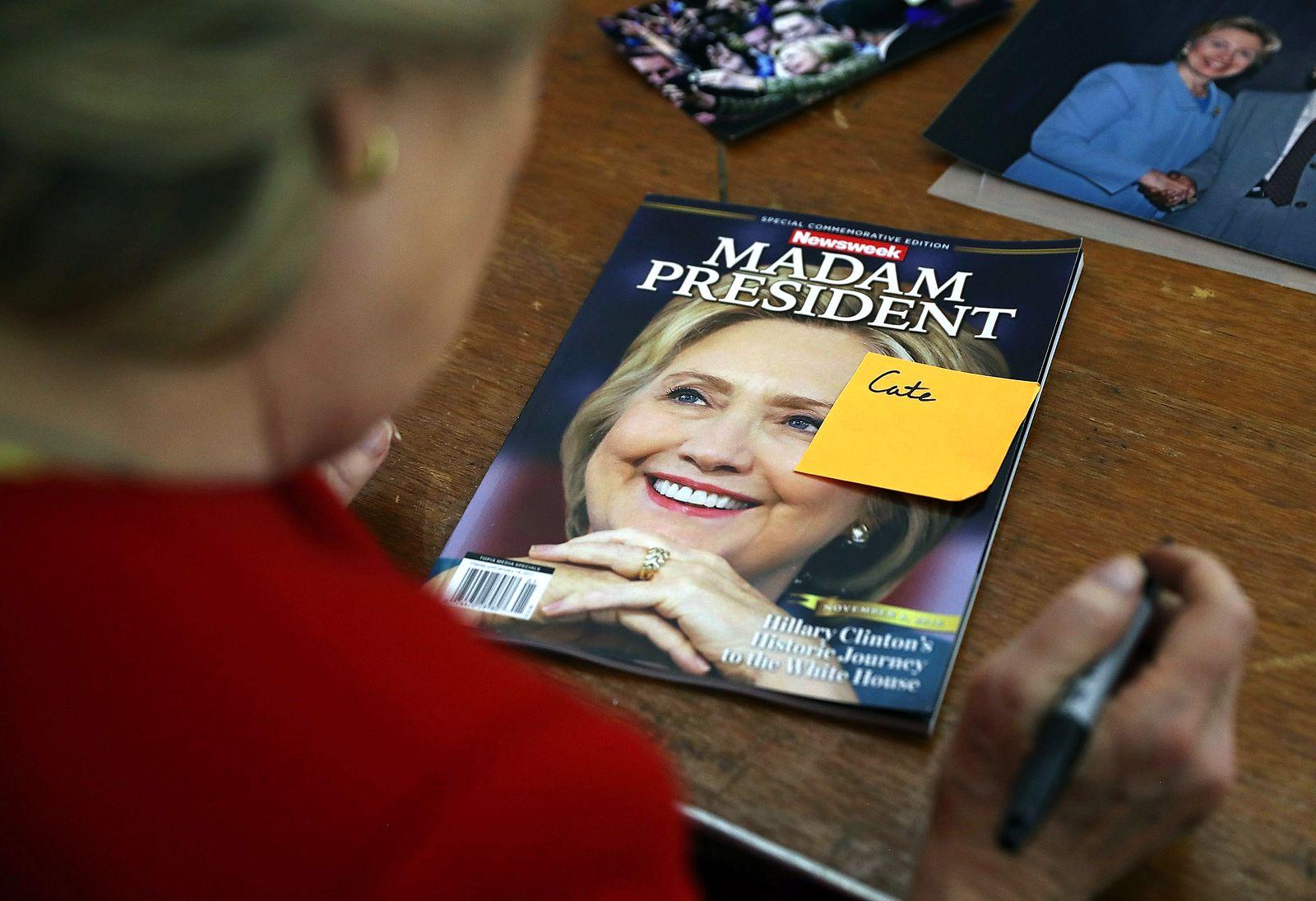 Newsweek/ Hillary Clinton