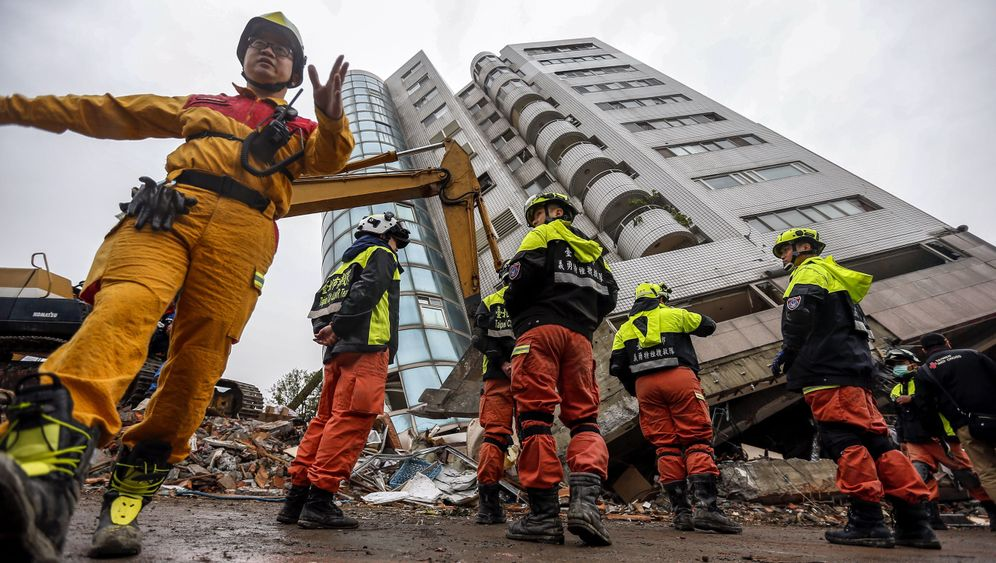 Erdbeben in Taiwan: Hualien in Trümmern