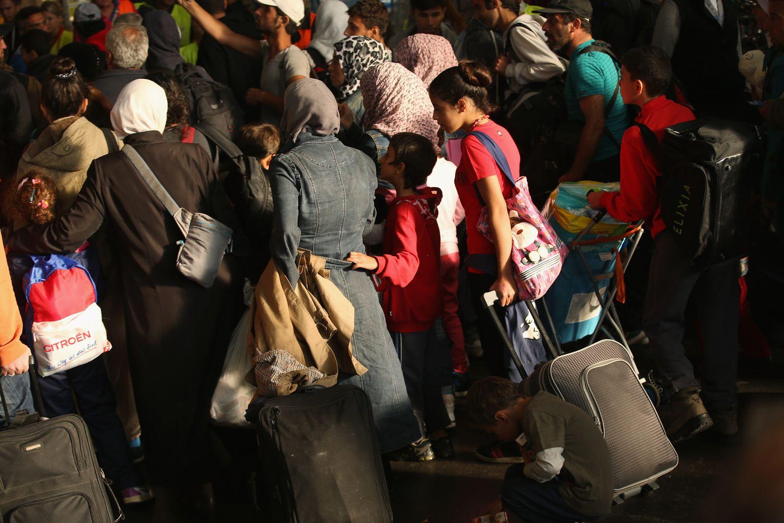 Flüchtlinge/ Bahnhof/ München