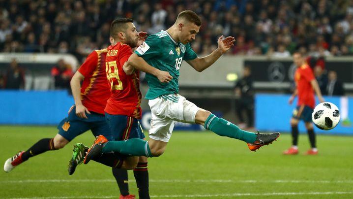 Das deutsche Länderspieljahr in Bildern: Ein historisches Debakel