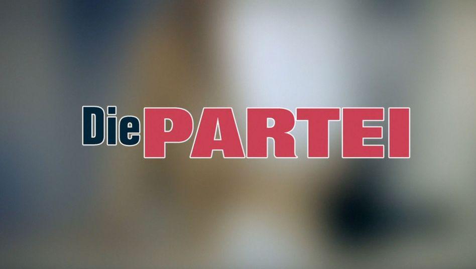 """Werbespot der """"Partei"""" (Screenshot): Zu anzüglich für YouTube"""