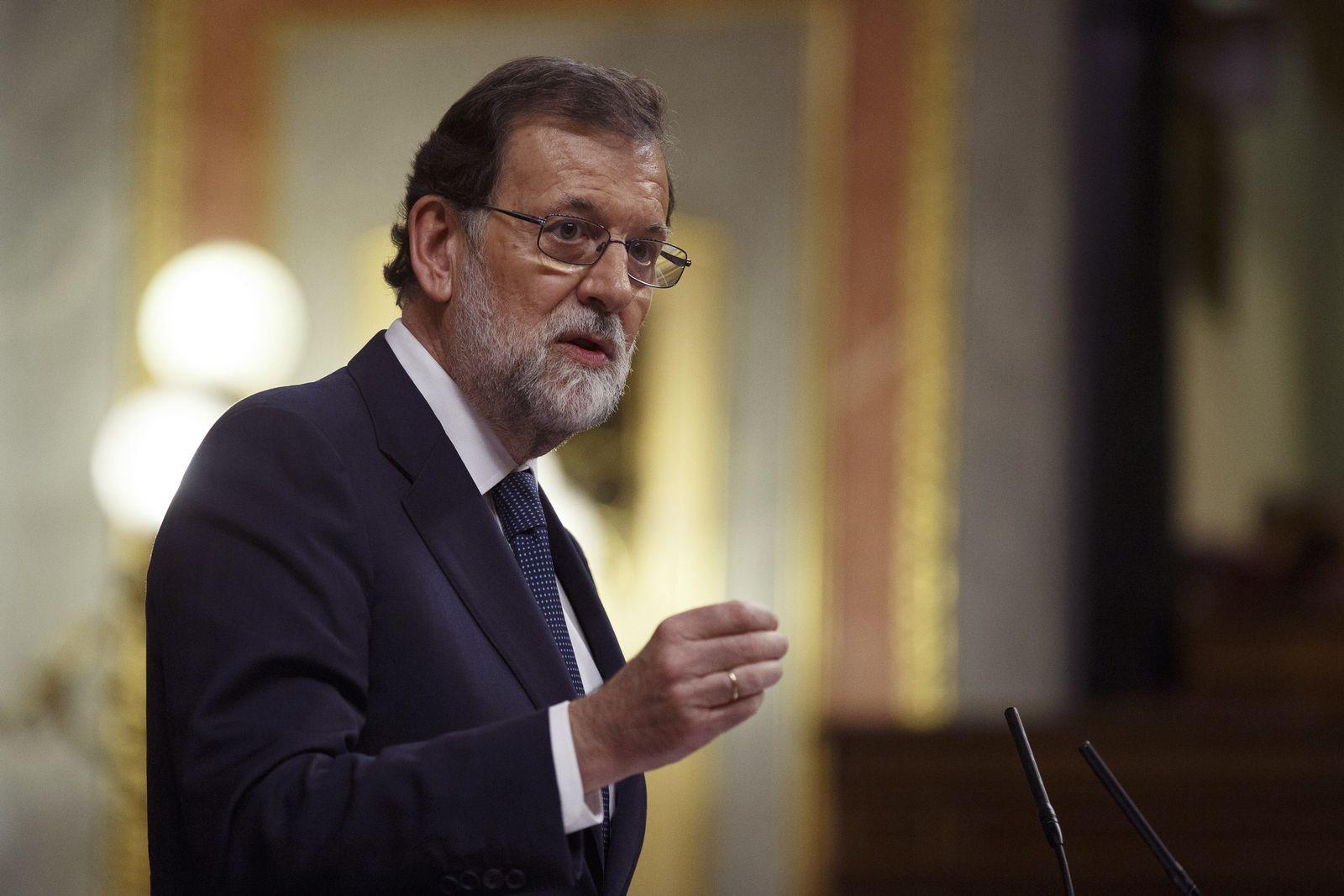Mariano Rajoy/ Spanien/ Kaltalonien