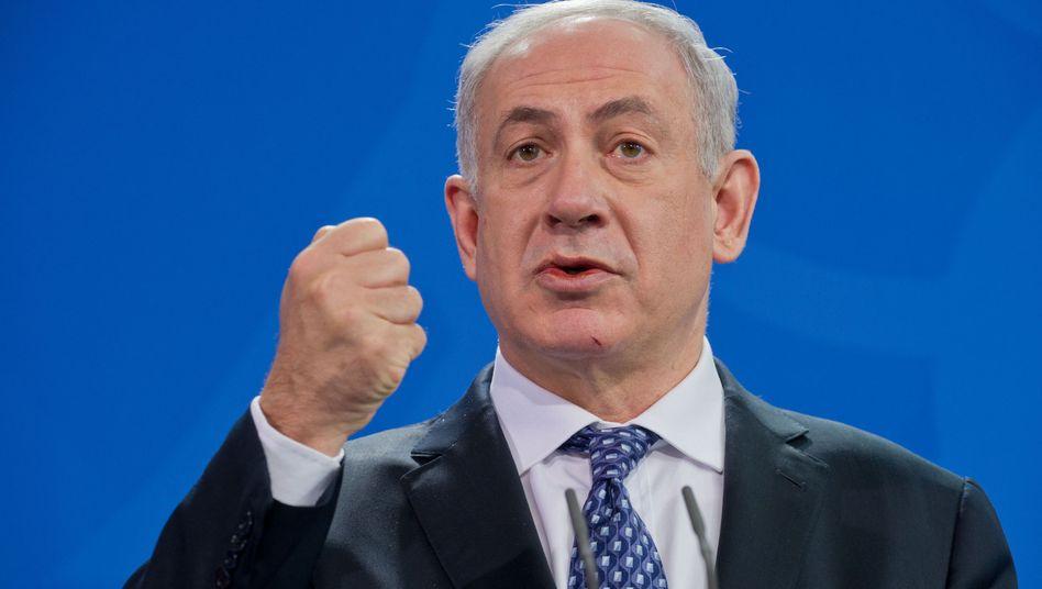 Israels Premier Netanjahu: Harte Worte aus den USA