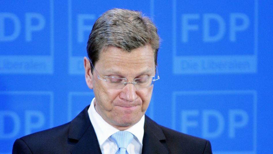 FDP-Chef Westerwelle: Debatte um seine Ablösung geht weiter