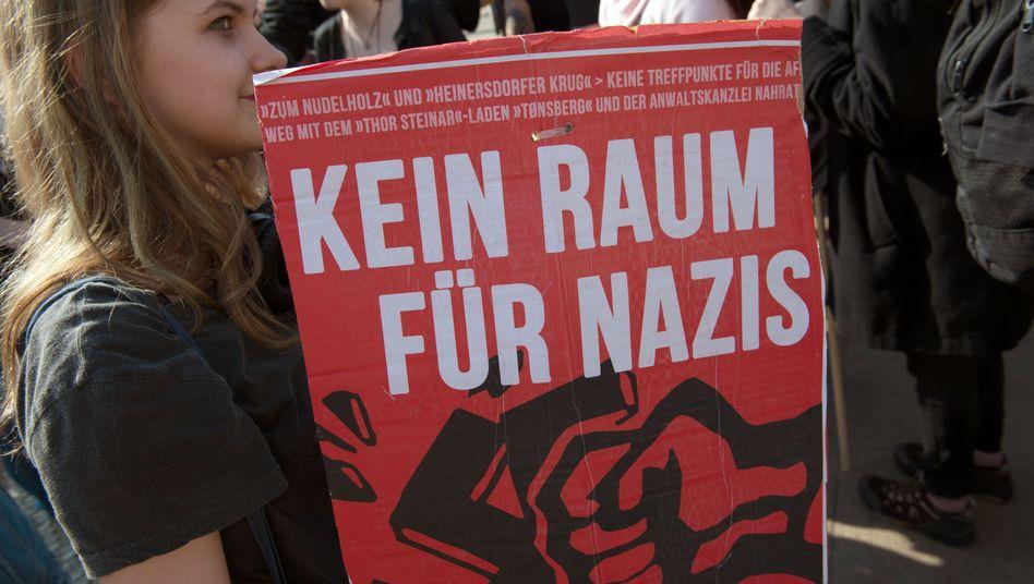 Demonstration gegen Rechts (in Berlin)