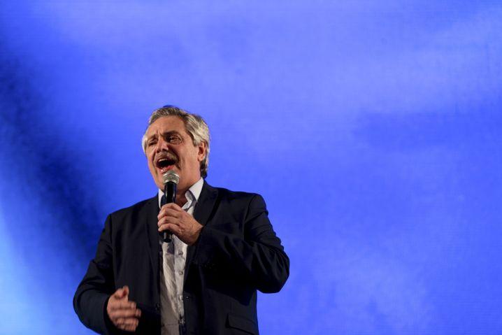 Präsidentschaftskandidat Alberto Fernández: Die Finanzmärkte reagierten panisch