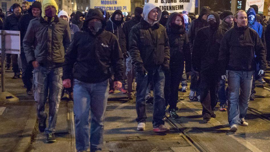 """Legida-Demonstration: """"Eine unglaublich aggressive Stimmung"""""""