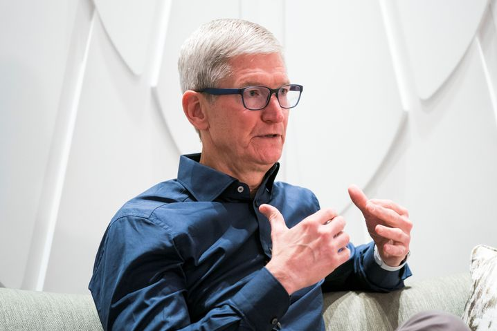 Tim Cook in Berlin