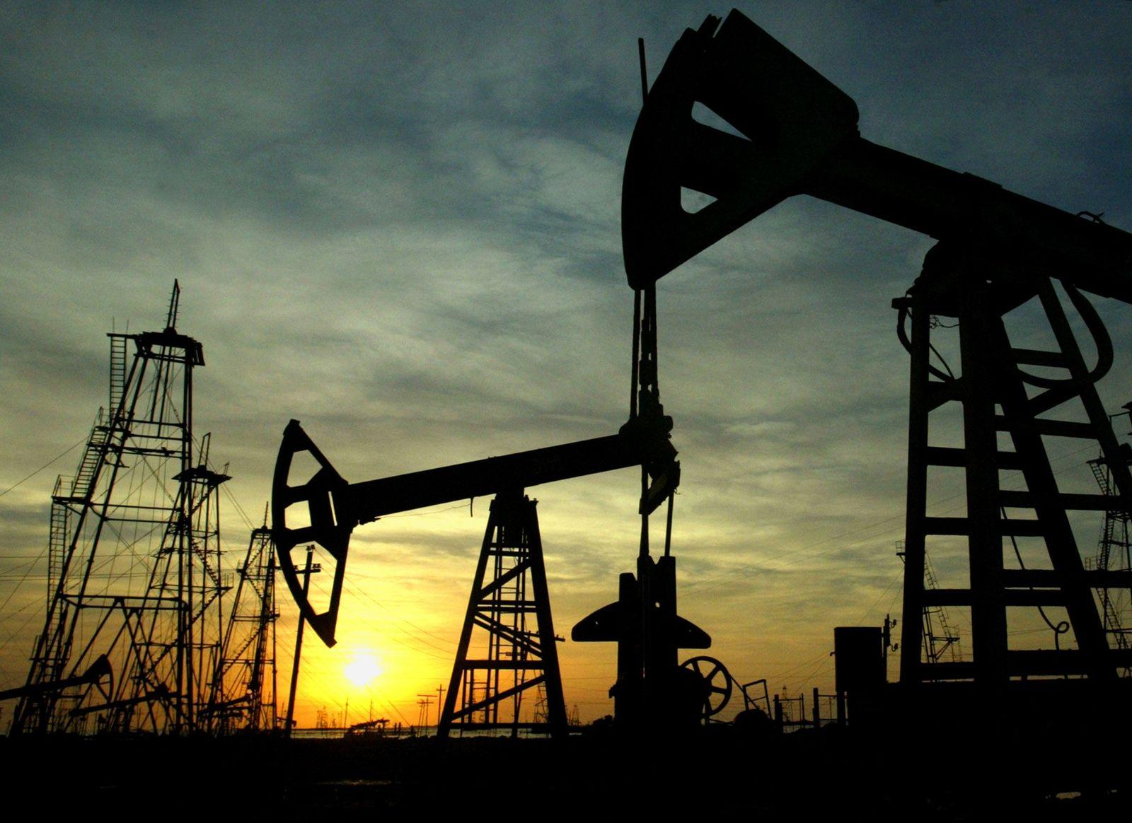 Aserbaidschan / Öl-Förderung