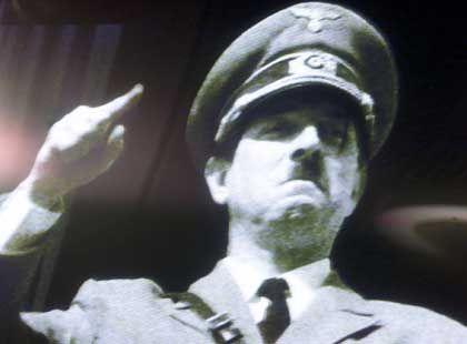 Hitlerbild bei einer britischen Anti-Euro-Kampagne (2002): Stets beliebtes Motiv