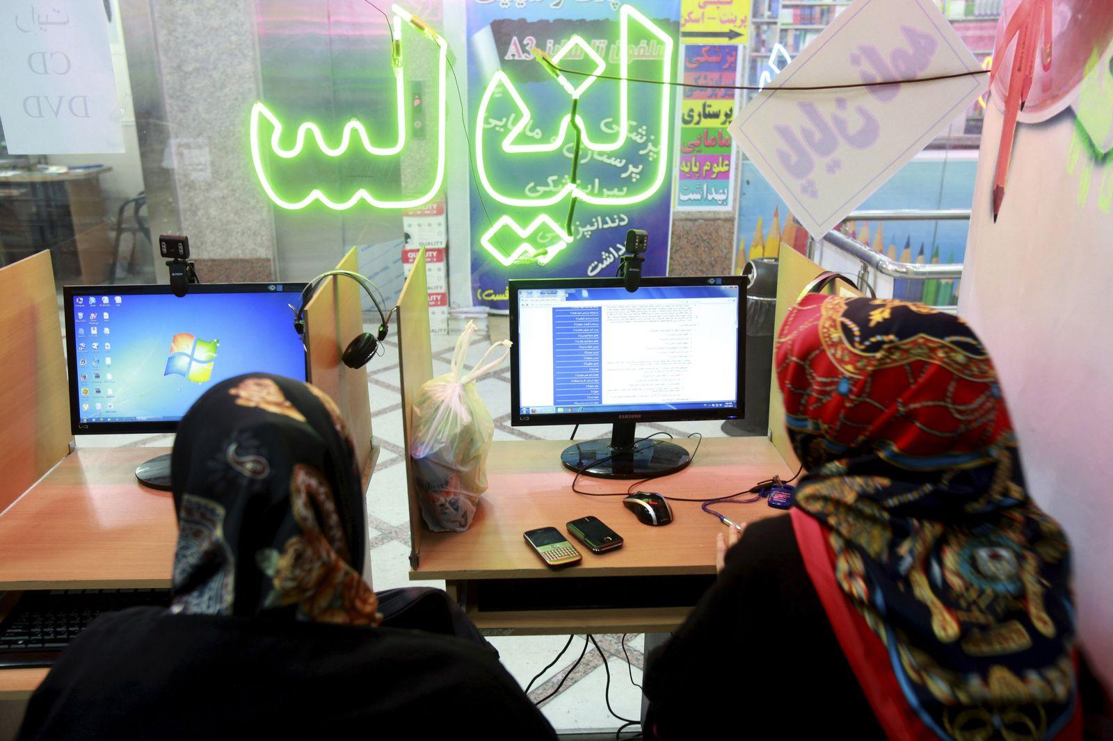 Mideast Iran Social Media