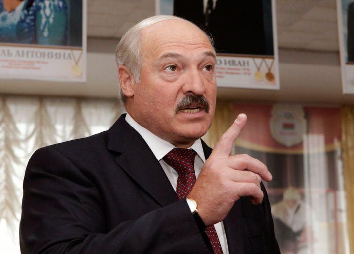 Machthaber Alexander Lukaschenko