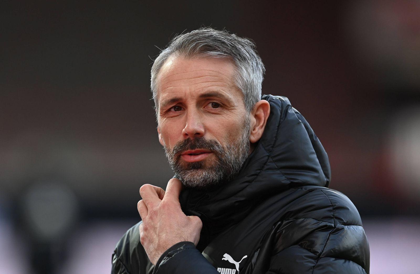 Fussball, Herren, Saison 2020/2021, 1. Bundesliga (19. Spieltag), 1. FC Union Berlin- Borussia Mönchengladbach, Trainer