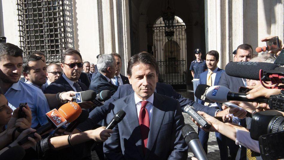 Italiens Premierminister Giuseppe Conte