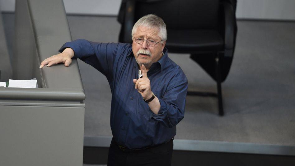 Wolf Biermann im Bundestag: Eine Teddy-Version