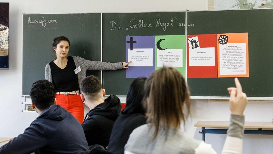 Religionsstunde in Hamburg: ein Unterricht für alle
