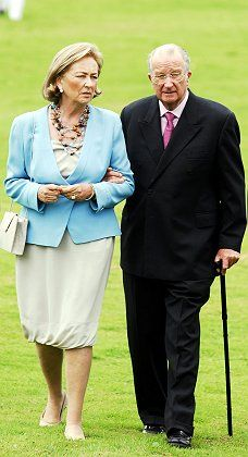 Queen Paola of Belgium and King Albert: Not much loved by the Flemings.