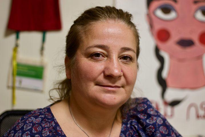 Aktivistin Lara Aharonian
