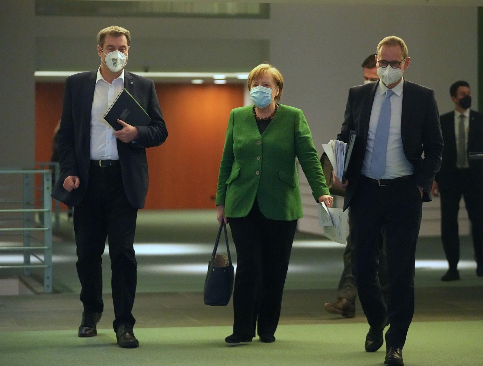 Coronavirus - Beratungen von Bund und Ländern - Pressekonferenz