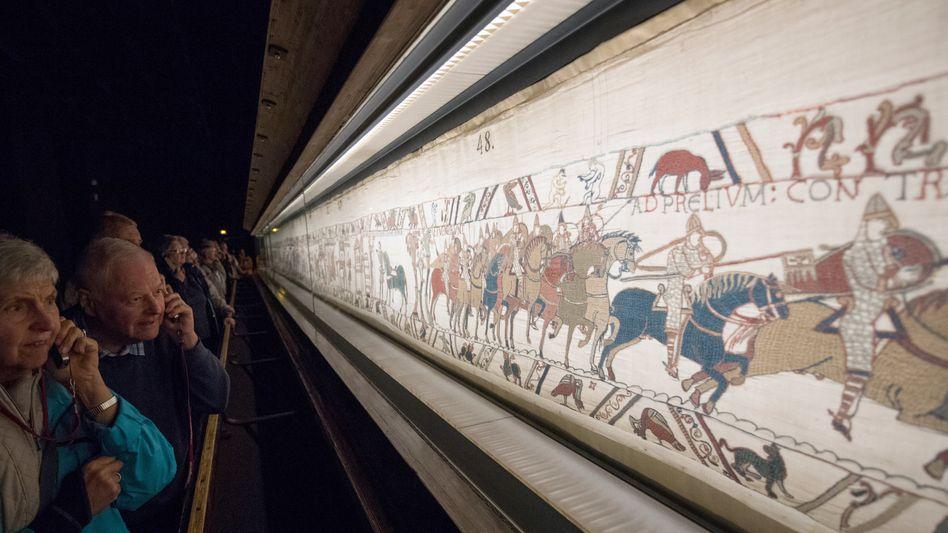 Wandteppich von Bayeux: Die Eroberung Englands durch die Normannen auf 70 Metern