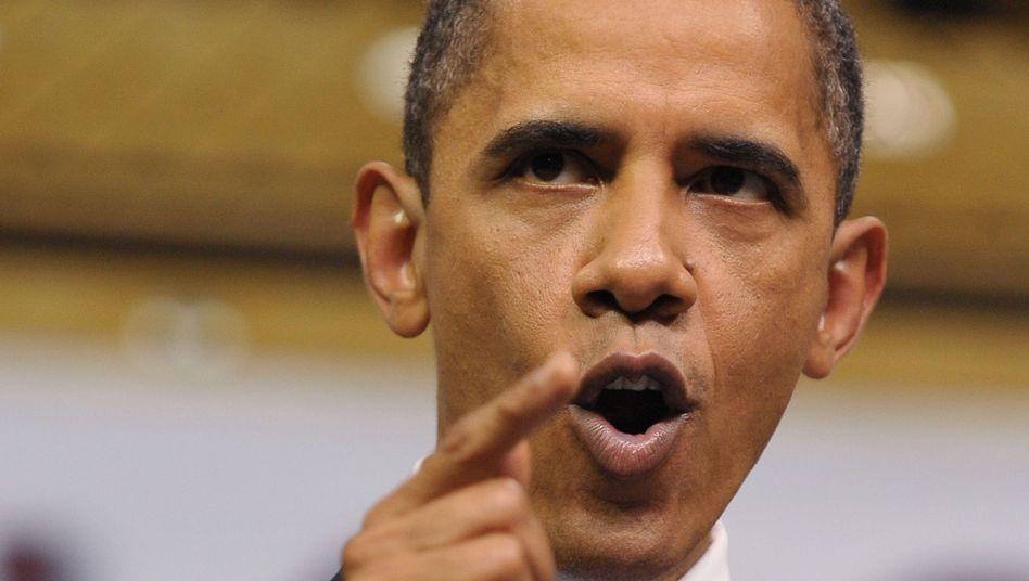 US-Präsident Barack Obama: Viel härter als Bush
