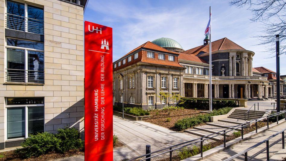Universität Hamburg: Veröffentlichung mit freundlicher Unterstützung des Präsidenten