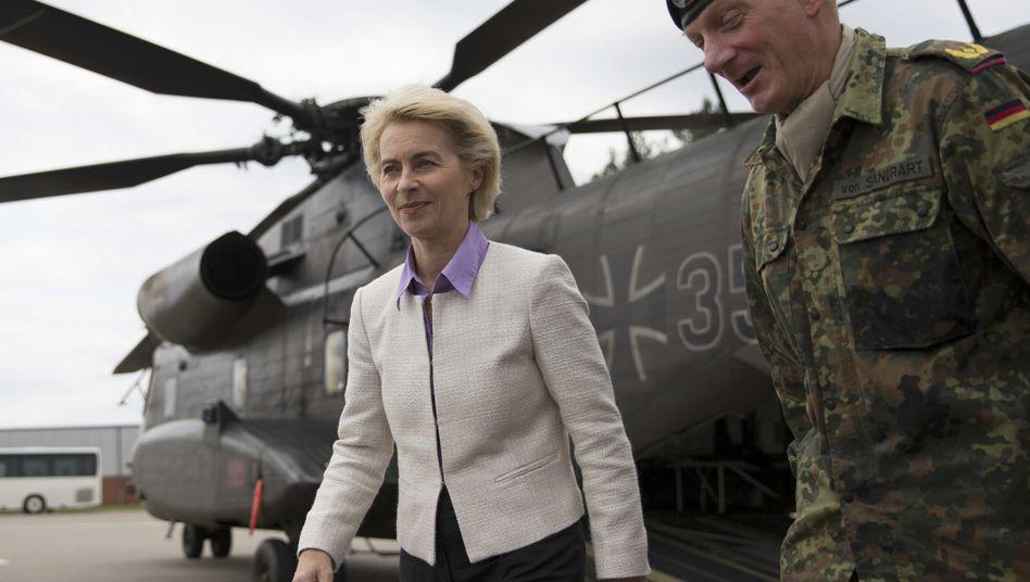 Verteidigungsministerin von der Leyen: Plant milliardenschwere Investitionen