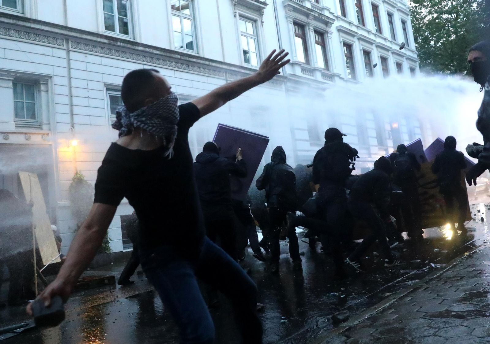 G20/ Protest/ Randale