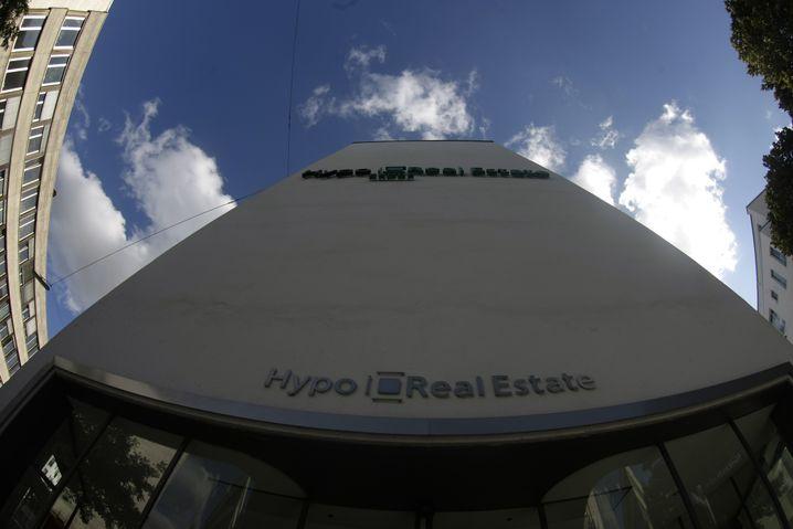 Zentrale der Hypo Real Estate 2008 in München