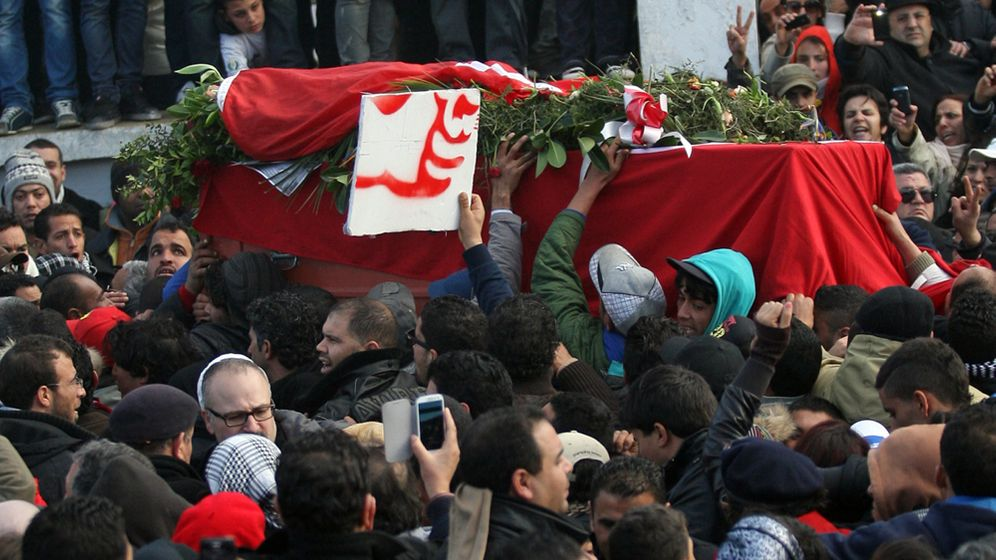 Photo Gallery: Assassination Exposes Deep Rifts in Tunisia