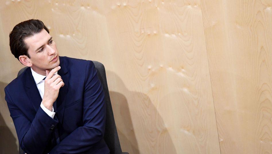 Sebastian Kurz: Klare Worte in Richtung eines Ex-Kollegen