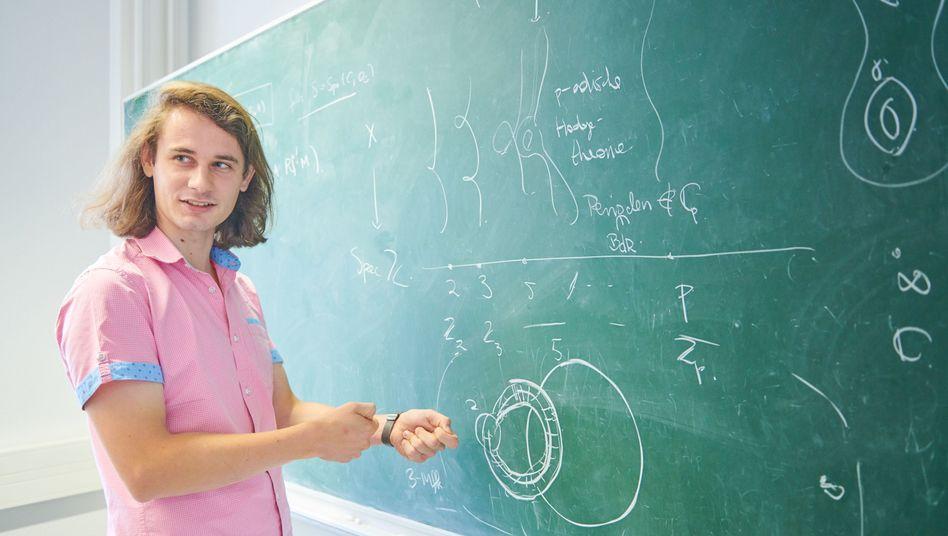 Mathematiker Peter Scholze