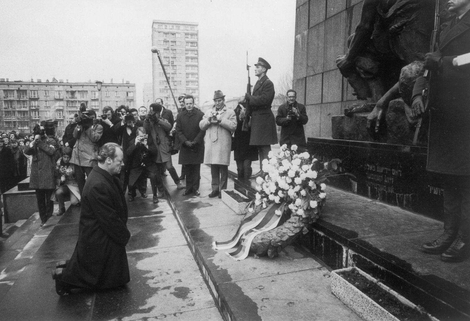 Staatsbesuch von Bundeskanzler Willy Brandt und Außenminister Walter Scheel in Polen (6. - 8. Dezember 1970)