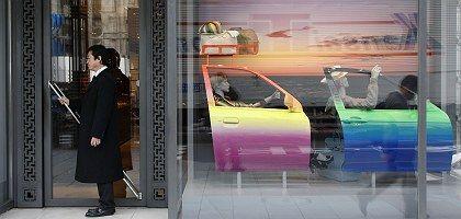 Luxusgeschäft in Tokio: Stimmung drückt auf privaten Konsum