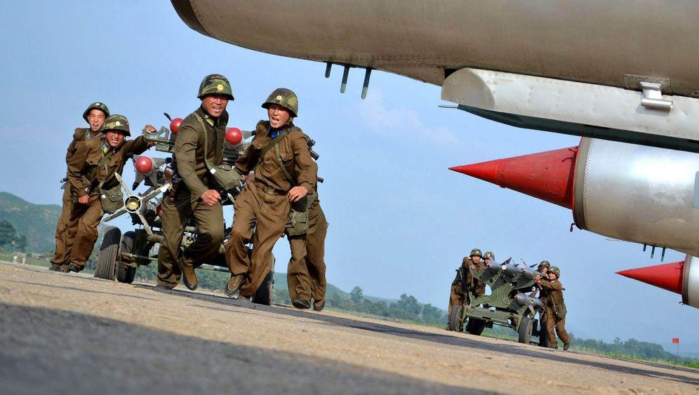 Drohung aus Nordkorea: Raketen gegen Flugblätter
