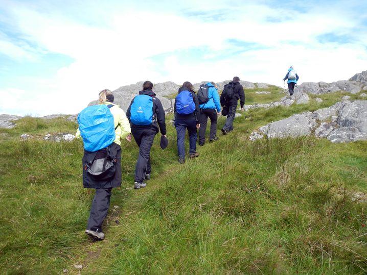 Wandern auf Iona (Innere Hebriden): Wettstreit mit der Natur