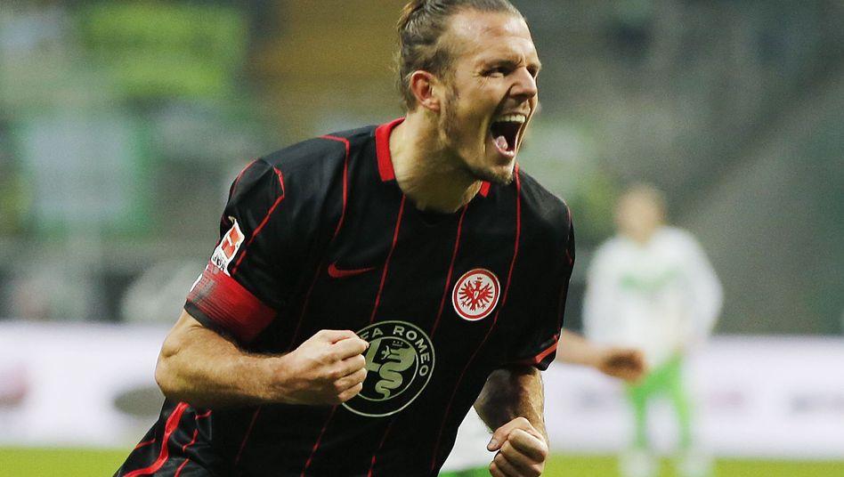 Alexander Meier im Trikot von Eintracht Frankfurt
