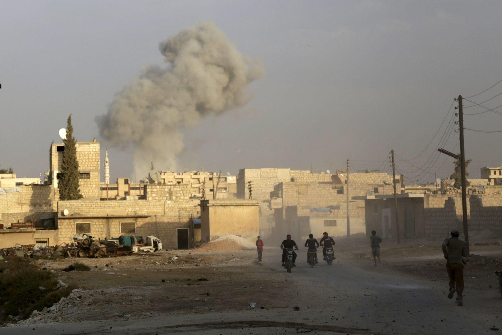 Luftangriff/Idlib