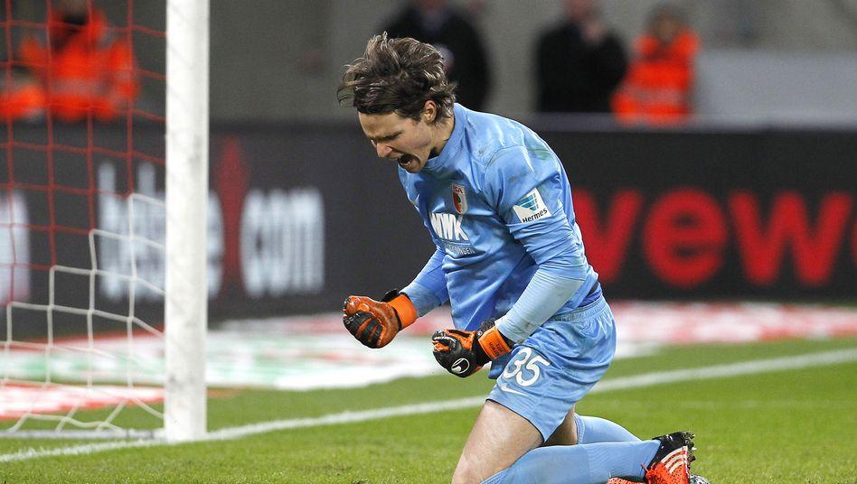 Augsburg-Torwart Hitz: Bestwert am 15. Spieltag