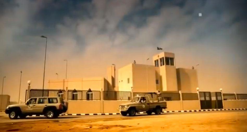 Screenshot aus Airbus-Video: So sollen die Grenzanlagen aussehen