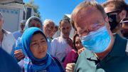Laschet bricht Besuch in Flüchtlingslager auf Lesbos ab