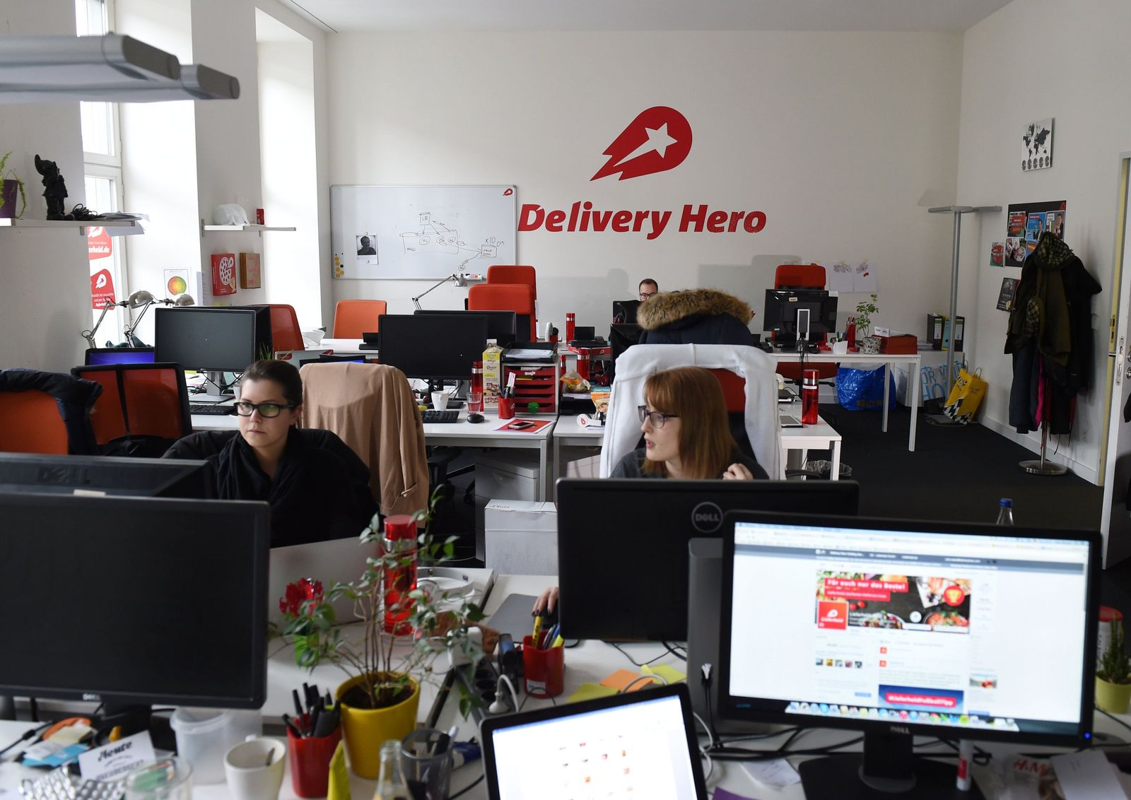 Delivery Hero Zentrale in Berlin