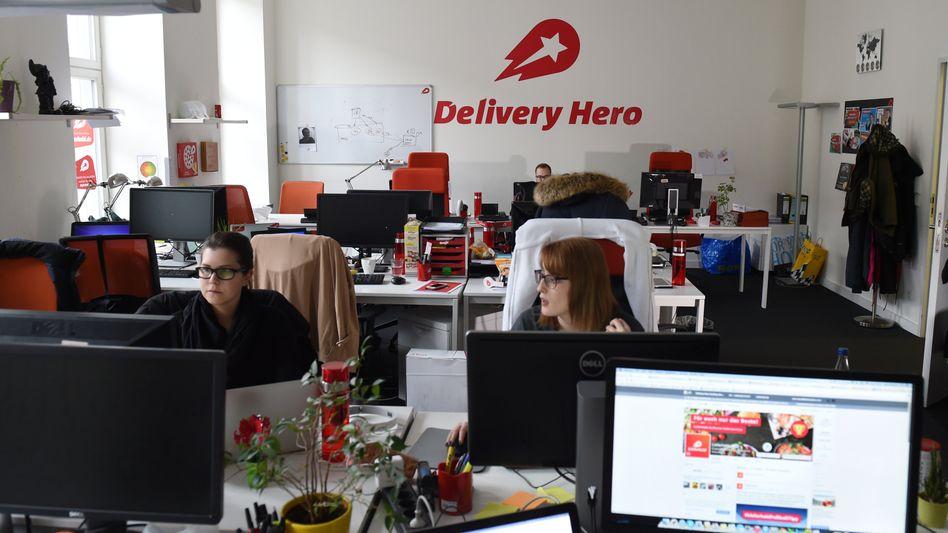 Delivery-Hero-Zentrale in Berlin